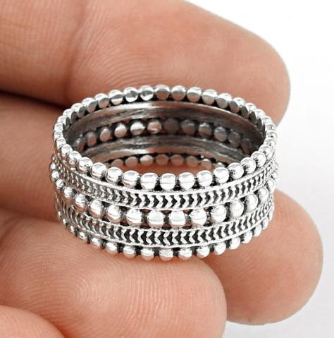 e1d736df77f Zilveren band ring maat 17.3 mm   Zilveren Ringen